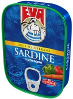 Eva Sardines with Vegetables in Sauce 115g