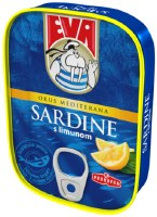 Eva Sardines in Vegetable Oil with Lemon 115g
