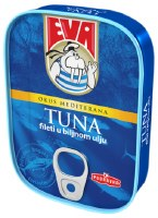 Eva Tuna Fillets in Vegetable Oil 115g