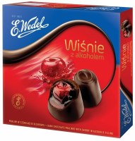 E. Wedel Cherries with Liquor Chocolate Gift Box 141g