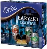 E. Wedel Happy Barrels With Cocktail Fillings Chocolate Gift Box 200g