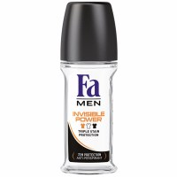 Fa Invisible 72 Hour Power Mens Roll On Deodorant 50ml