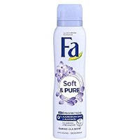 Fa Womens Soft and Pure Deodorant Spray 150ml