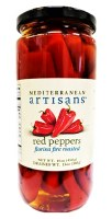 Mediterranean Artisans Florina Roasted Red Peppers 450g