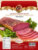 George's Brand Dry Cured & Smoked Pork Loin Approx. 0.8lb