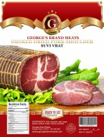 George's Brand Dry Cured Pork Shoulder Suvi Vrat Approx. 1.5 lb