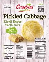 Gradina Pickled Cabbage Head Approx. 4 to 5 lbs PLU 96 R