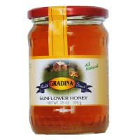 Gradina Sunflower Honey 25 oz