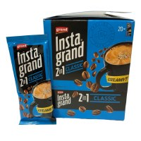 Grand Instant Coffee 2 in 1 Classic 20 Pouches x 16g