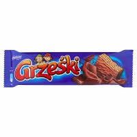 Goplana Grzeski Chocolated-Coated Wafer with Dark Chocolate Cream 36g