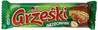 Goplana Grzeski Milk Chocolate Coated Wafer with Hazlenut Cream 36g