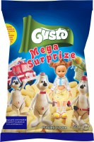 Gusto Pufuleti Plain Corn Puffs with Mega Surprise Toy 60g