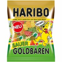 Haribo Sour Bears Gummy Candy 200g