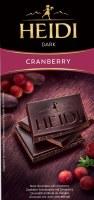 Heidi Dark Chocolate With Cranberry 80g