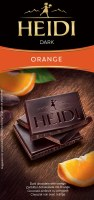 Heidi Dark Chocolate with Orange 80g