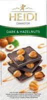 Heidi Dark Chocolate with Whole Hazelnuts 100g