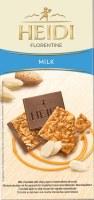 Heidi Milk Chocolate with Crispy Layer of Caramelized Almonds 100g