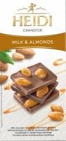 Heidi GrandOr Milk Chocolate With Whole Caramelized Almonds 100g