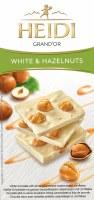 Heidi GrandOr White Chocolate with Whole Caramelized Hazelnuts 100g