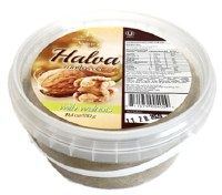 JM Golden Collection Natures Delight Sunflower Halva with Walnuts 550g