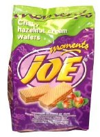 Nestle Joe Moments Hazelnut Wafer Cubes 200g.