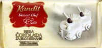 Kandit Smooth and Rich White Baking Chocolate 200g