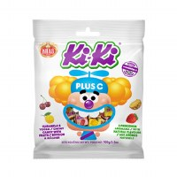 Kras KiKi Plus Vitamin C Chewy Candy with Fruit 100g