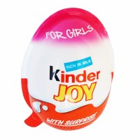 Ferrero Kinder Joy For Girls 25g
