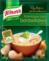 Knorr Creamy Boletus Mushroom Soup with Onion 50g (kremowa zupa borowikowa z cebulka)
