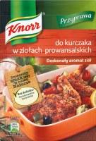 Knorr Chicken Herb Seasoning 25g (do Kurczaka w Ziolach Prowansalskich)