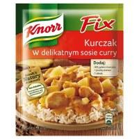 Knorr Fix for Chicken with Mild Curry Sauce 40g (Kurczak w Delikatnym Sosie Curry)