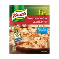 Knorr Fix Geschnetzeltes Zuricher Art 41g