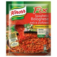 Knorr Fix Spaghetti Bolognese with Herbs 48g (Spaghetti Bolognese extra ziolowe)