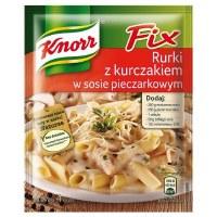 Knorr Fix Chicken in Mushroom Sauce in Noodles 33g (Rurki z kurczakiem w sosie pieczarkowym)