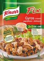 Knorr Fix 2 in 1 Gyro with Mild Pepper Sauce 38g (Gyros z Sosem Paprykowow-Ziolowym)