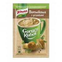 Knorr Instant Boletus Mushroom Soup 15g (Borowikowa z grzankami)