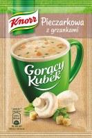 Knorr Instant Mushroom Soup with Croutons 15g (Pieczarkowa z grzankami)