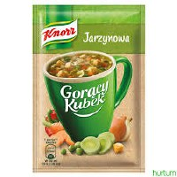 Knorr Instant Vegetable Soup with Croutons 18g (Jarzynowa)