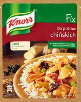 Knorr Fix Sesoning for Chinese Dishes 39g (Do Potraw Chinskich)