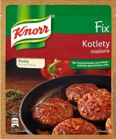 Knorr Fix Ground Meat & Meatball Sesoning 64g (Kotlety Mielone)
