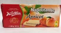 Koestlin Apricot Wafers Napolitanke 300g