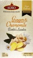 Koro Ginger and Chamomile Tea 32g