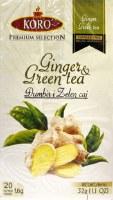 Koro Ginger and Green Tea 32g