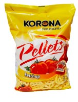 Korona Wheel Shaped Ketchup Flavored Chips 75g