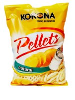 Korona Wheel Shaped Original Salted Chips 75g