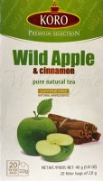Koro Wild Apple and Cinnamon Tea 40g