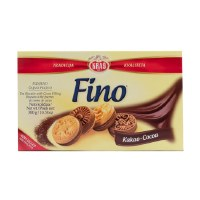 Kras Fino Tea Biscuits With Cocoa Filling 300g