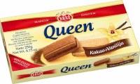 Kras Queen Cocoa and Vanilla Tea Biscuits 250g