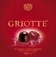 Kras Griotte Cherry Liquor Chocolate Box 204g
