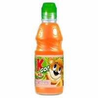 Kubus GO! Apple Peach Juice 0.3L